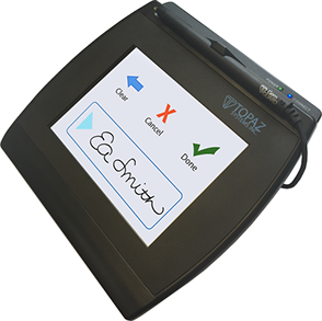 Electronic Signature Pad - SigGem Color 5.7 BT