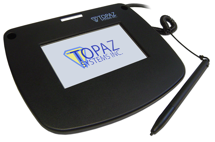 Topaz SigPlusLCD Electronic Signature Software - SigLite Color 4.3 Logo
