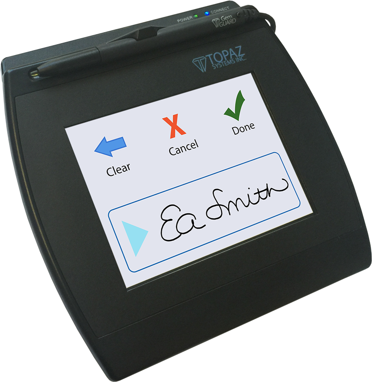 Topaz Systems Electronic Signature Pad